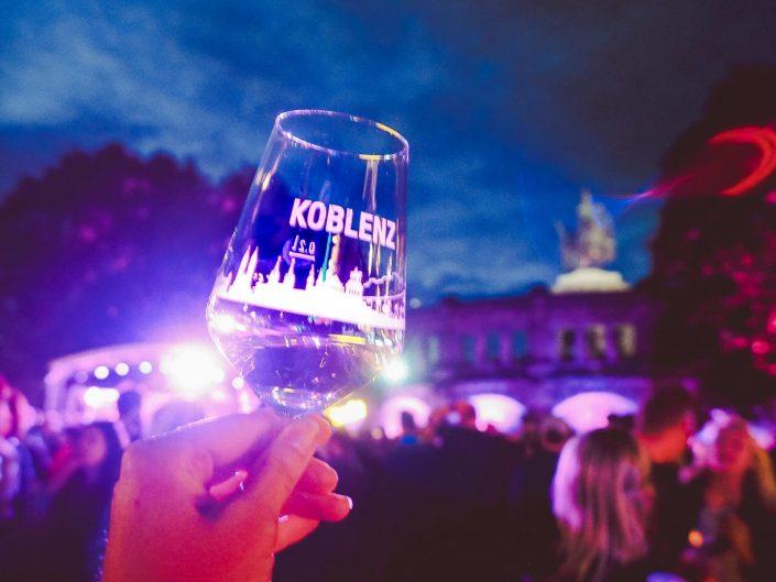 Electronic Wine | Deutsches Eck Koblenz | Juni 2017