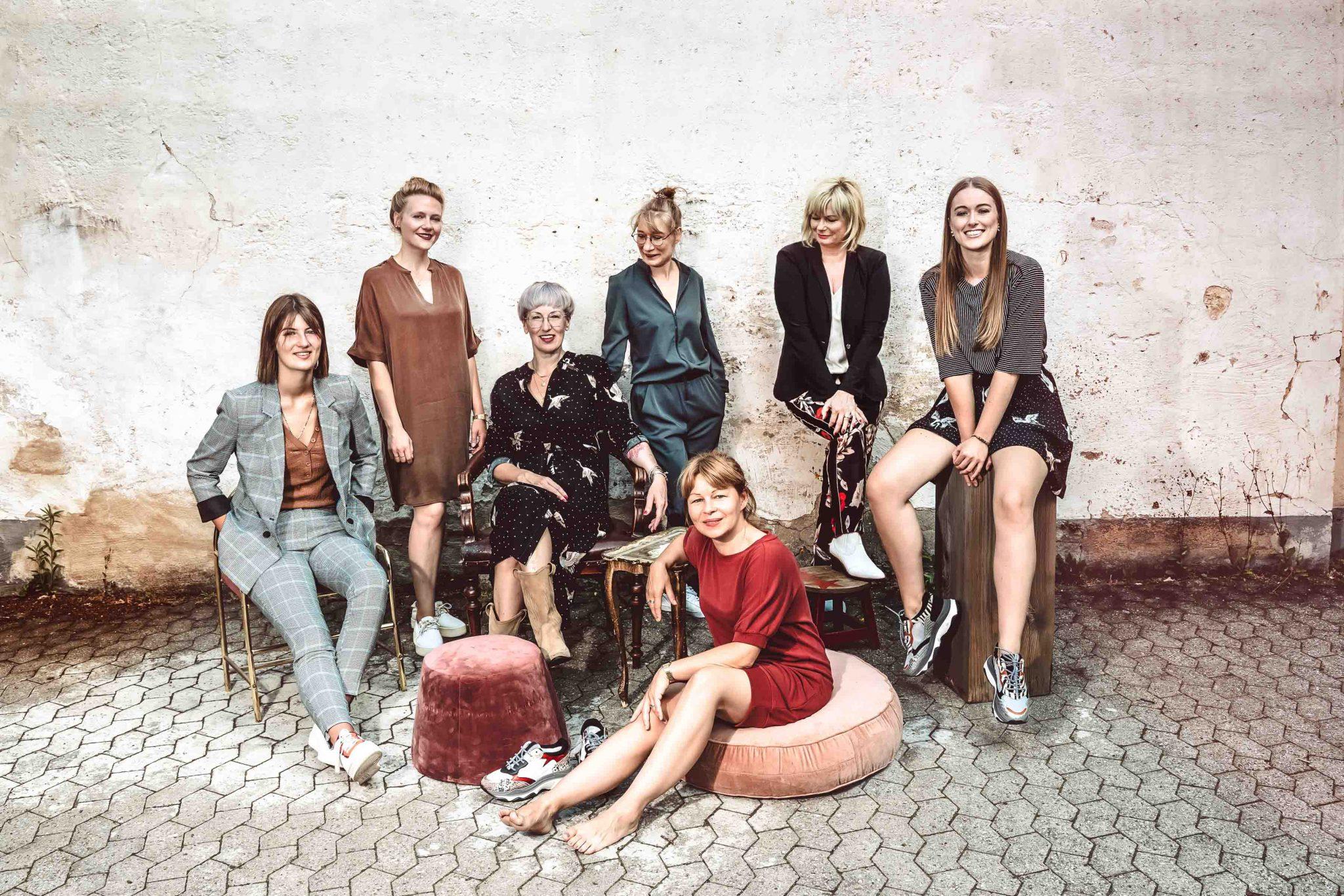 Iris Woldenga & ihr Team